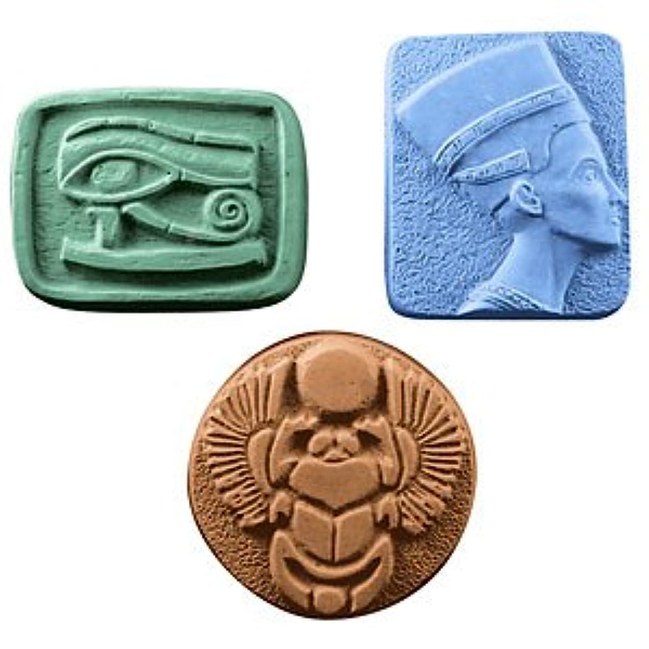 褐色回転する専らミルキーウェイ エジプト 【ソープモールド/石鹸型/シートモールド】
