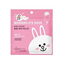 MEDIHEAL Line Friends Warming Eye Mask 10EA/メディヒール ライン フレンズ ウォーミング アイマスク 10枚 (#Lavender (Cony)) [並行輸入品]