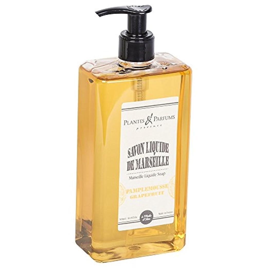 においドライバコンパニオンPlantes&Parfums [プランツ&パルファム] マルセイユリキッドソープ グレープフルーツ