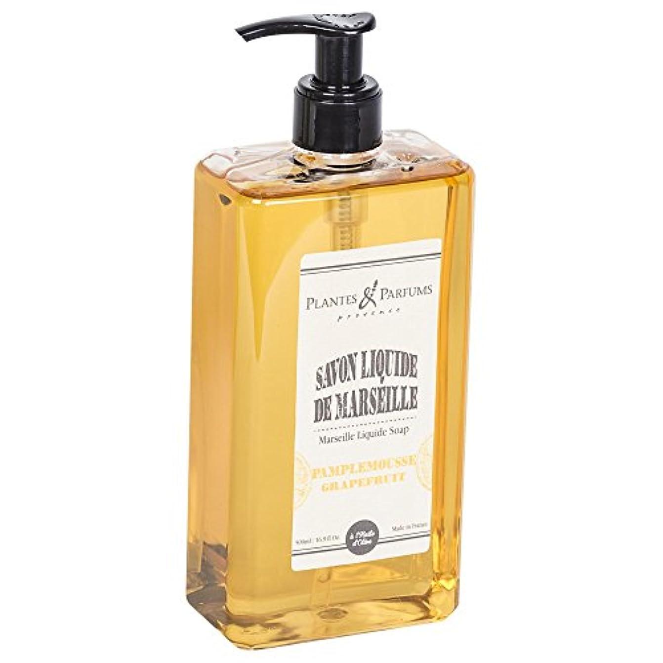 迅速破滅マーキングPlantes&Parfums [プランツ&パルファム] マルセイユリキッドソープ グレープフルーツ