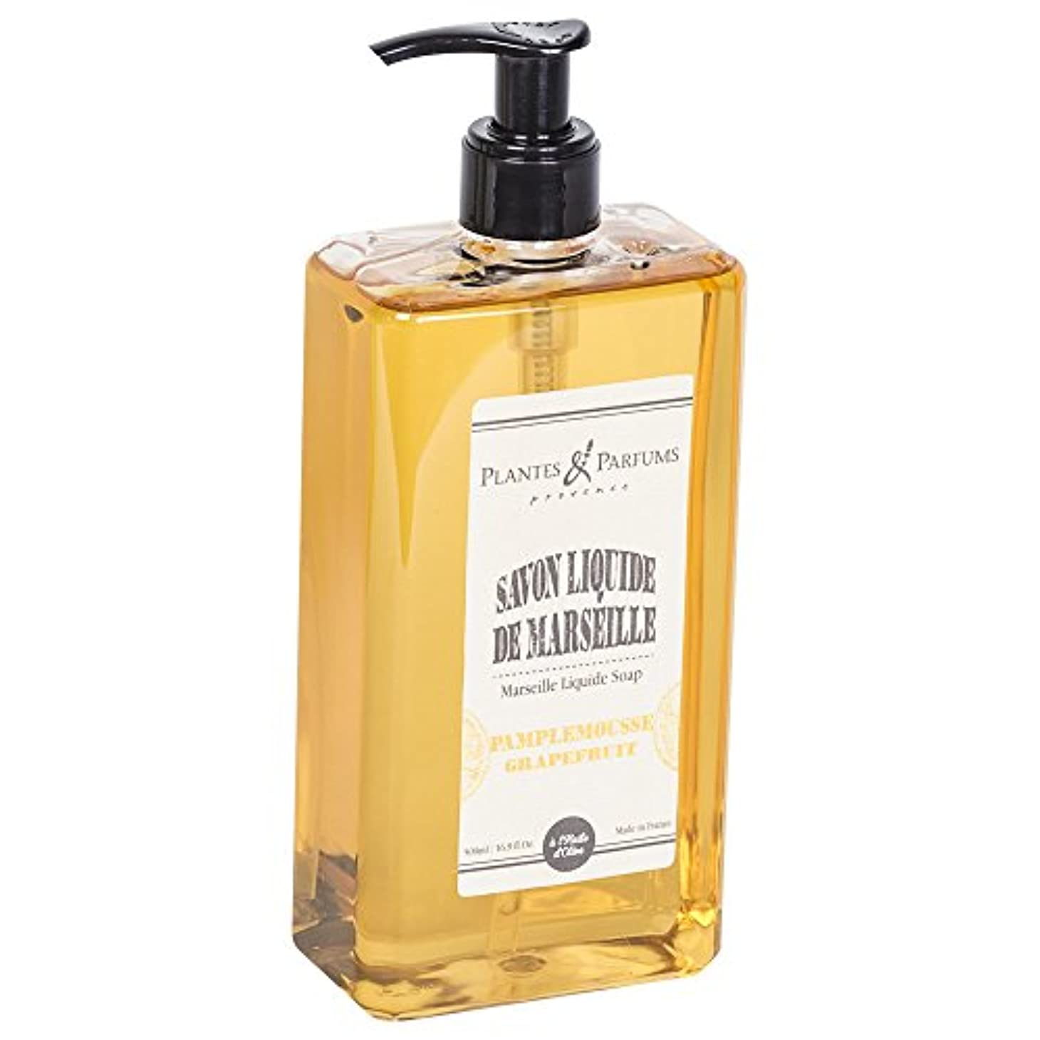 チャーターディンカルビル本物のPlantes&Parfums [プランツ&パルファム] マルセイユリキッドソープ グレープフルーツ