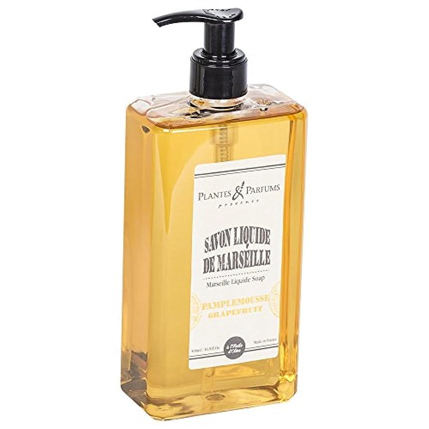 ペット静かにセットアップPlantes&Parfums [プランツ&パルファム] マルセイユリキッドソープ グレープフルーツ