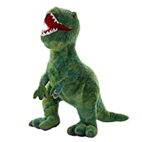 AIXINI Stuffed Dinosaur Plush Toy - 13%ダブルクォーテ% Long Realistic Stuffed Animal Toy for Boy Girls Kids and Toddlers%カンマ% Green (13) … [並行輸入品]