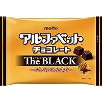 名糖産業 アルファベットチョコThe BLACK* 170g×6袋入