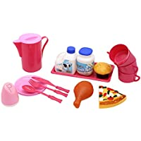Little Treasures Play Food Eating Set For Kids