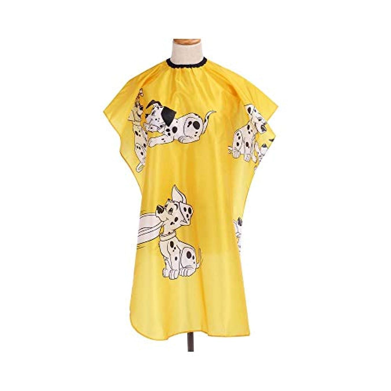 ポケットクラフトスーダンLucy Day カットをスタイリングする髪のための黄色の全身ケープユニセックスプロ美容院防水ガウン