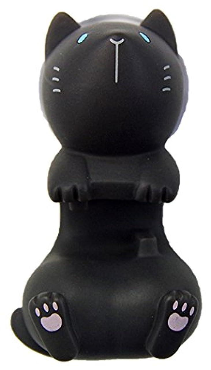 ハシートップイン トゥースブラシホルダー (ネコBK) HB-2880