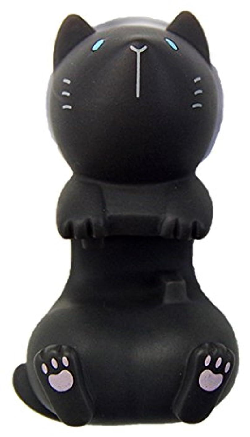 フォロー作業偉業ハシートップイン トゥースブラシホルダー (ネコBK) HB-2880