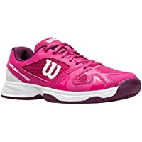 Wilson Junior Rush Pro 2.5 Very Berry/Purple/White Girls Tennis Shoe