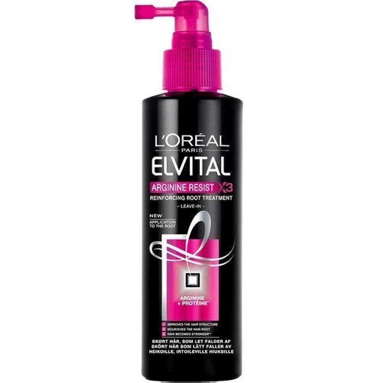 縮約参加するハリウッドL'oreal Elvital Arginine Resist Reinforcing Root Treatment 200ml by L'Oreal