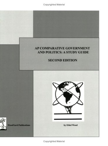 Download Ap Comparative Government And Politics: A Study Guide 0974348120