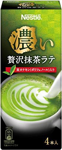 ネスレ 濃い贅沢抹茶ラテ 4包×6
