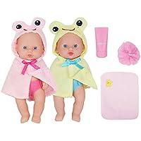 Huang Chengおもちゃパックの2 8インチベビー人形with Accessories Clothes BathBallタオルクレンザー