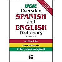 Vox Everyday Spanish and English Dictionary (VOX Dictionary Series)【洋書】 [並行輸入品]