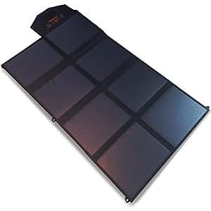 SmartTap 100W ソーラーパネル充電器 PowerArQ Solar 太陽光発電 ソーラーチャージャー 高効率ソーラーパネル8枚搭載 DC8mmポート (100W/35.6V/2.8A) 18V/35.6V切り替え機能付き