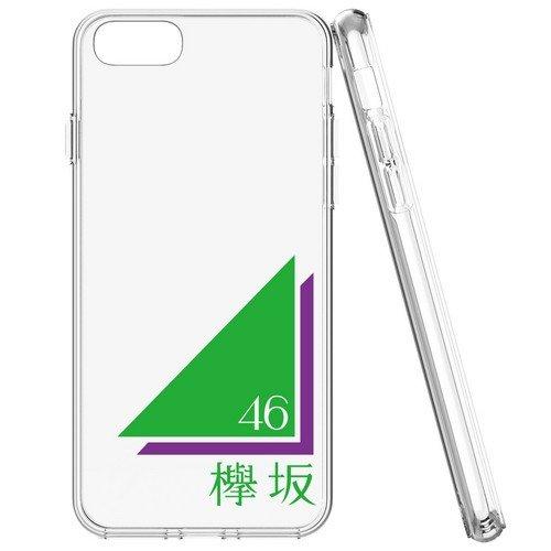 iPhone7 ソフトケース 《欅坂46》 透/ロゴ...