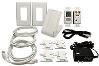 on-q au5901whv1Inwall mp3プレーヤーシステム、ホワイト