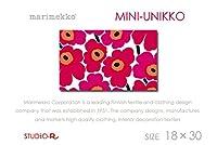 MINI-UNIKKOファブリックパネル (18×30, 赤・RED)
