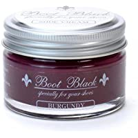 COLUMBUS ブートブラック シュークリーム(ツヤ革靴専用 ビン入り乳化性クリーム) 17449 バーガンディー