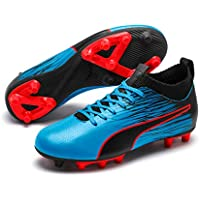 PUMA Boys Evoknit FTB II FG JR Football Boots