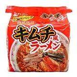 無塩製麺 キムチ ラーメン 減塩ラーメン (5食入り)