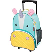 Skip Hop Zoo Kid Rolling Luggage, Eureka Unicorn