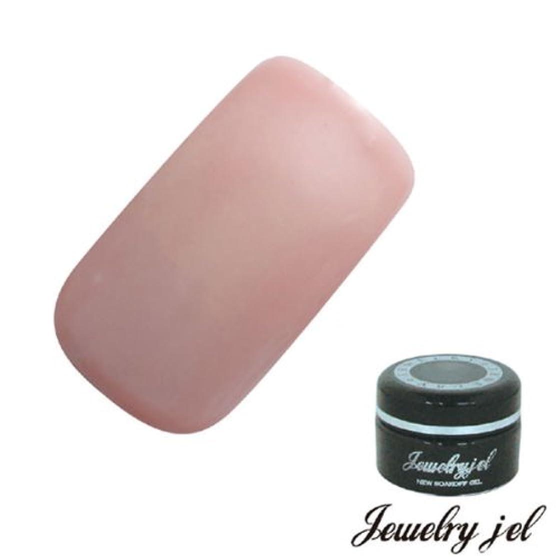 絶縁する急襲丈夫ジュエリージェル ジェルネイル カラージェル OP103 3.5g ピンク シアーマット UV/LED対応  ソークオフジェル ナチュラルピンク