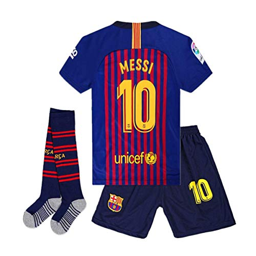 3053db470b372 メッシ サッカーユニフォーム, FCバルセロナ 背番号10 レプリカサッカーユニフォーム 子供用 大人用