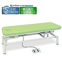 高田ベッド 電動マッサージベッド セントラル TB-1245 幅65 長180 高45~83 ライムグリーン