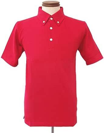 S/Sボタンダウンポロシャツ Red