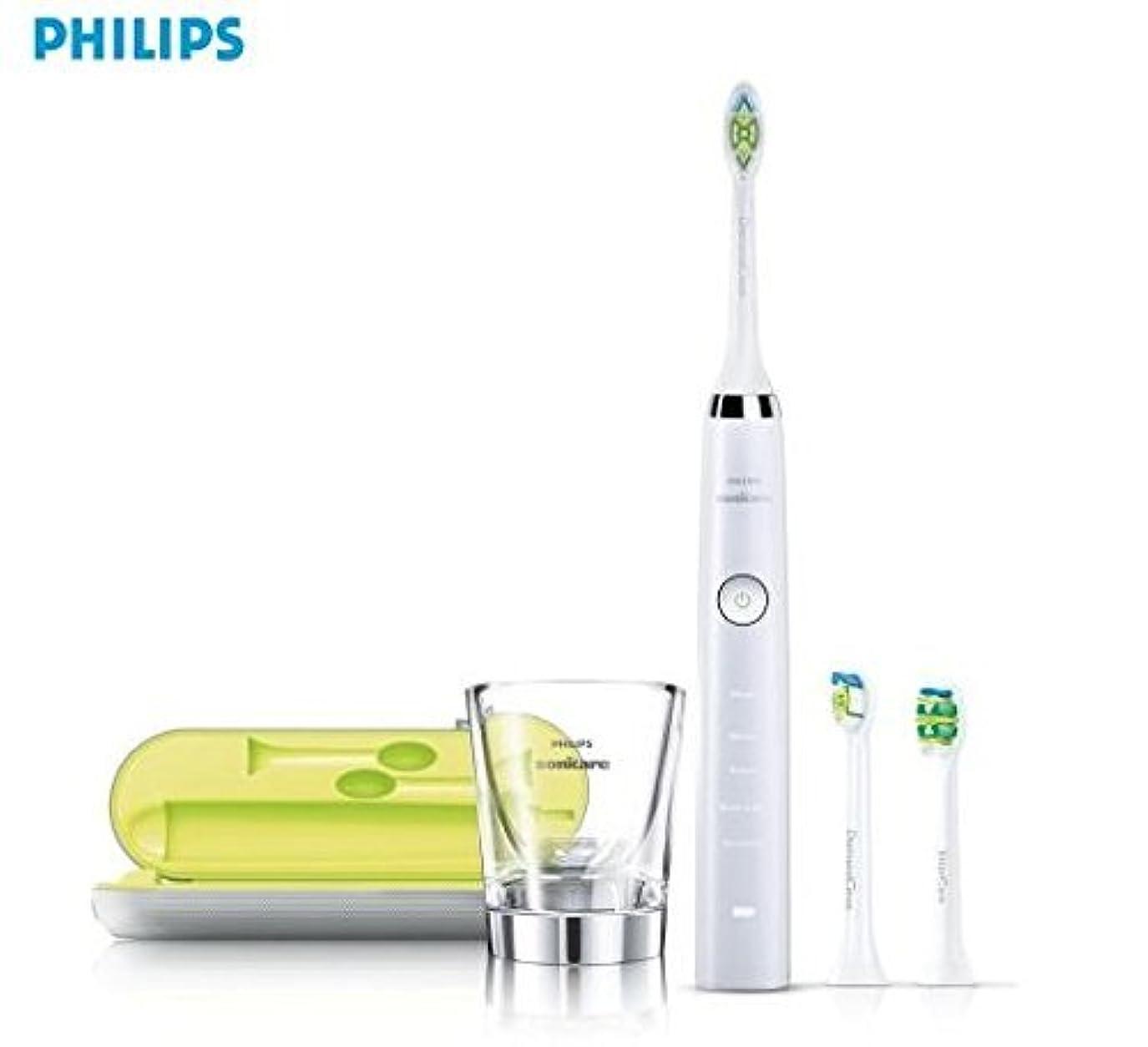 拒絶する貫通傾向ソニッケアー 電動歯ブラシ(ホワイト)PHILIPS sonicare ダイヤモンドクリーン HX9335/05