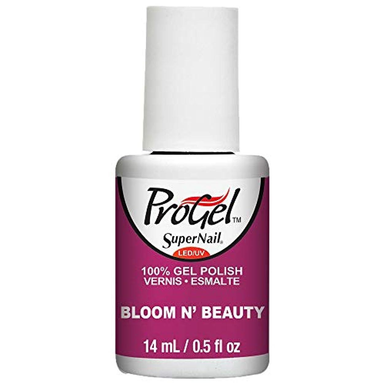 インシュレータフルート欺くSuperNail ProGel Gel Polish - Bloom N Beauty - 0.5oz / 14ml