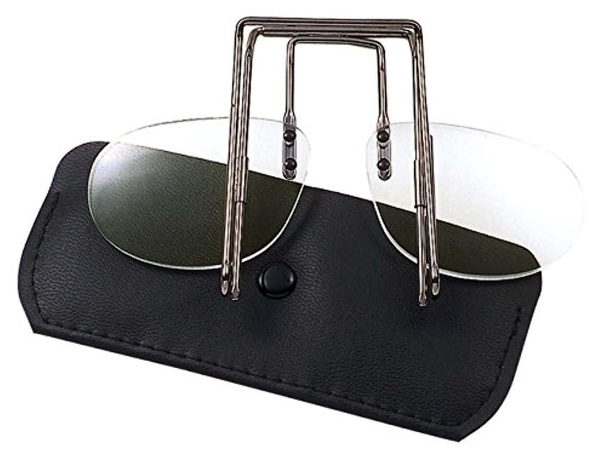 含意もっと援助する冒険王(Boken-Oh) 帽子用老眼鏡 シニアスライダー +1.50 ME-3