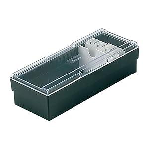セキセイ ネームカードボックス ブラック CB-700-00