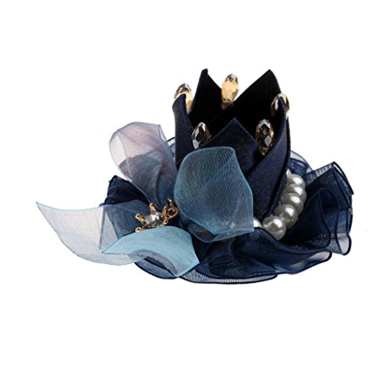 Dovewill 女の子 ガール ファブリック ヘアクリップ ヘアアクセサリ 王冠 蝶結び 可愛い 贈り物 全4色