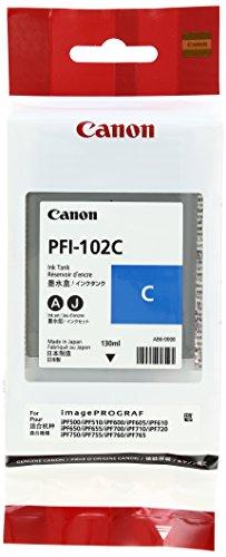 純正インクタンク シアン PFI-102C 0896B001
