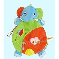 ychoice面白いFinger PuppetsおもちゃHand Puppets柔らかい布動物人形手おもちゃぬいぐるみおもちゃfor赤ちゃんキッド(象)