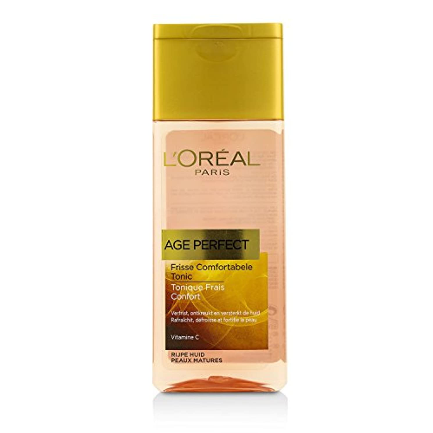 主婦強いすごいロレアル Age Perfect Comfortable toner With Vitamin C (For Mature Skin) 200ml/6.7oz並行輸入品