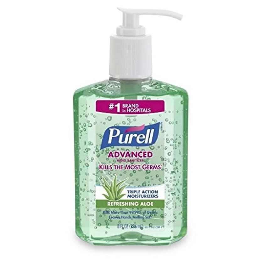 収束する窓を洗う溶かすGojo PURELL HAND消毒剤ALOE 8 OZ