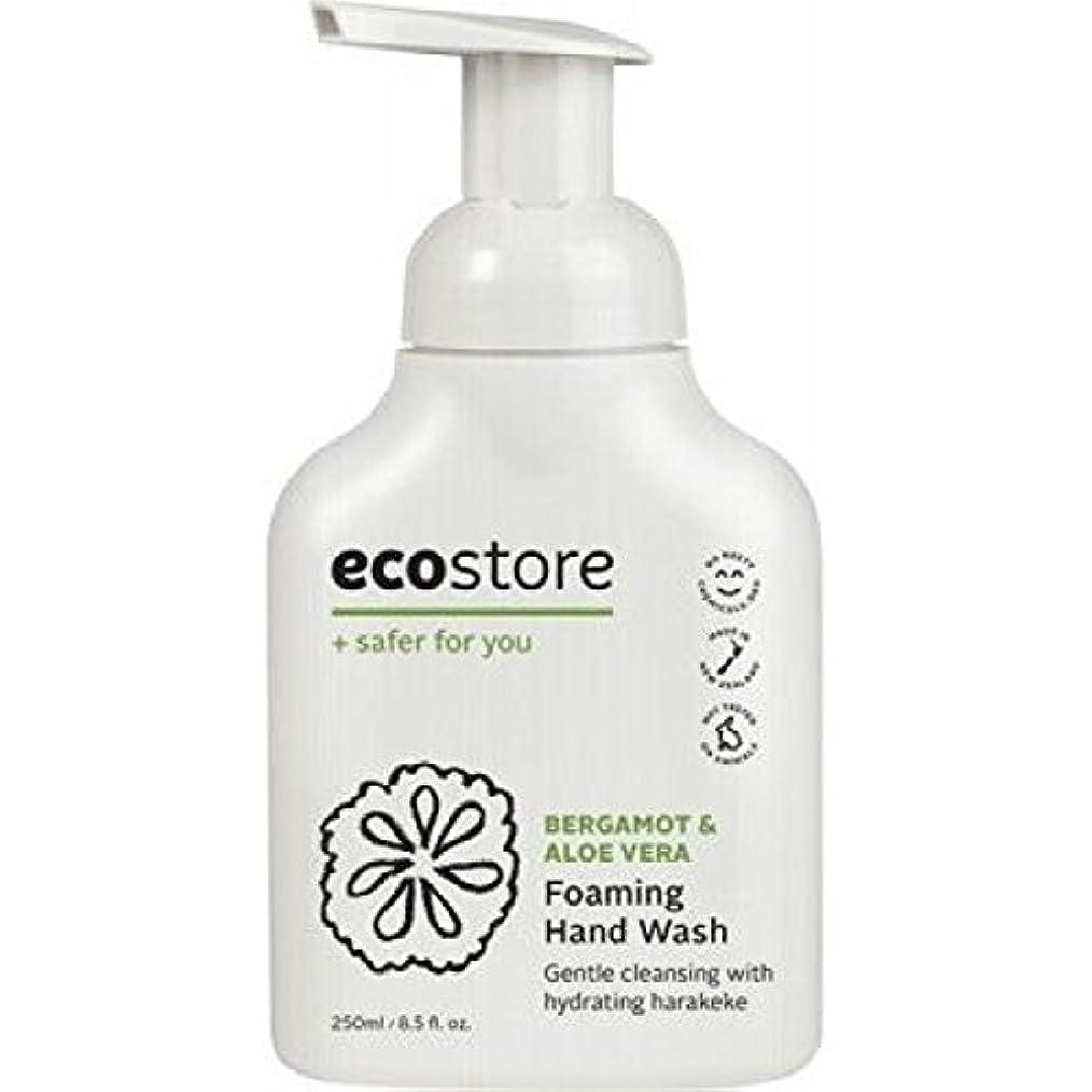 ecostore(エコストア) ハンドウォッシュ 【ベルガモット&アロエベラ】 250mL 泡タイプ