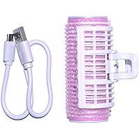 IKRR ホットカーラー USB 加熱 巻き髪 持ち運び便利 前髪 パーマ カーラー 携帯用 美容用品