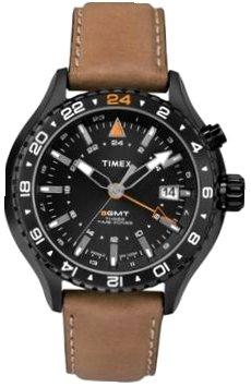[タイメックス]TIMEX ウォッチ 腕時計 T2P427 GMT機能 カレンダー 10気圧防水バックライト メンズ