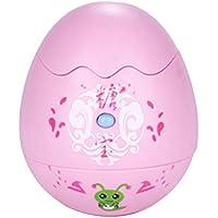 タンブラーRolyポリ子供玩具人形Webleble卵の玩具楽器ピンク
