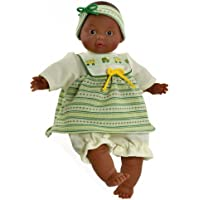 Paola Reina Annouck 12.5 African American Baby Doll (Made in Spain) by Paola Reina