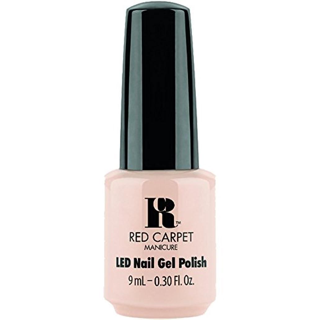 乗って頬強化するRed Carpet Manicure - LED Nail Gel Polish - Oh So Posh - 0.3oz / 9ml
