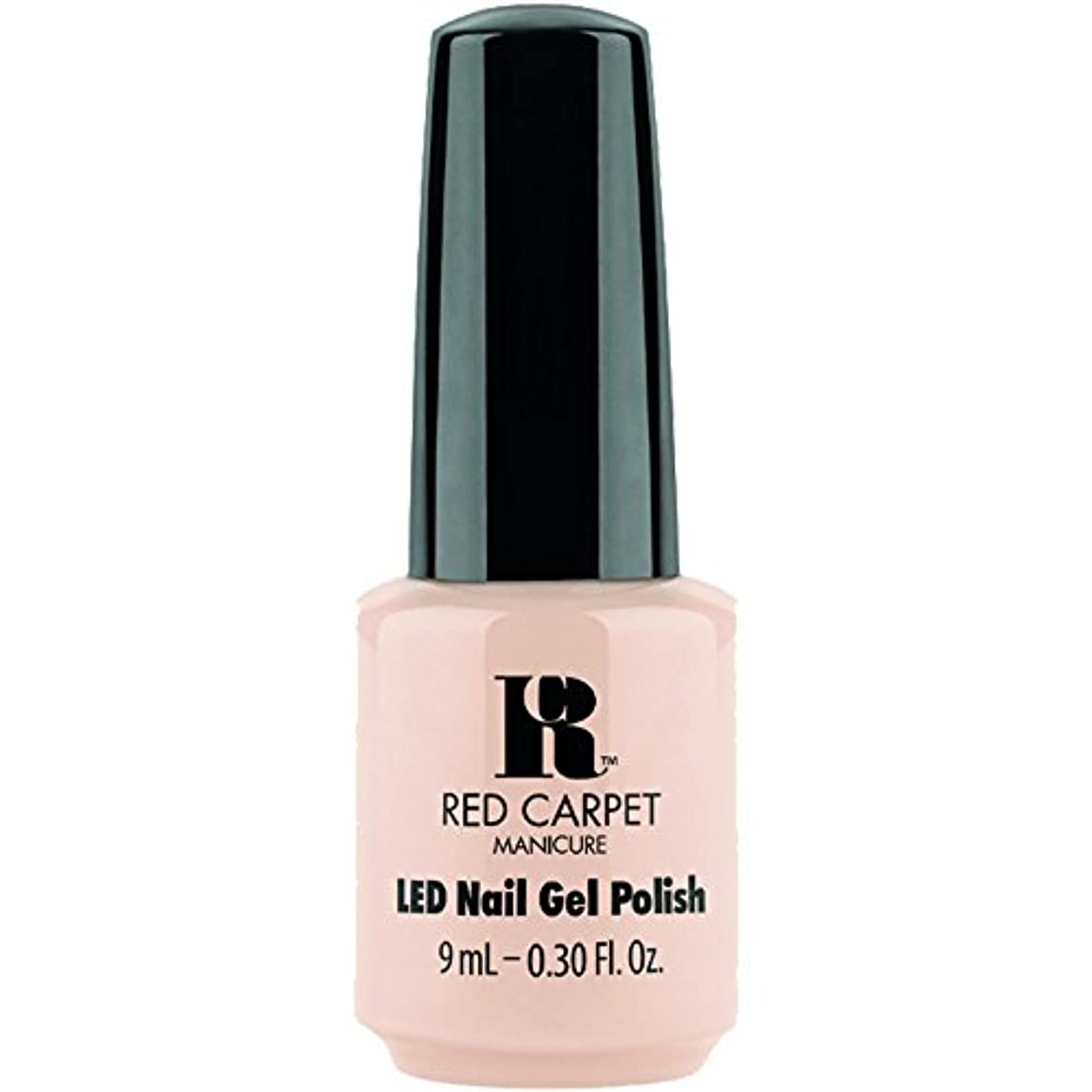 冒険者化学薬品逮捕Red Carpet Manicure - LED Nail Gel Polish - Oh So Posh - 0.3oz / 9ml