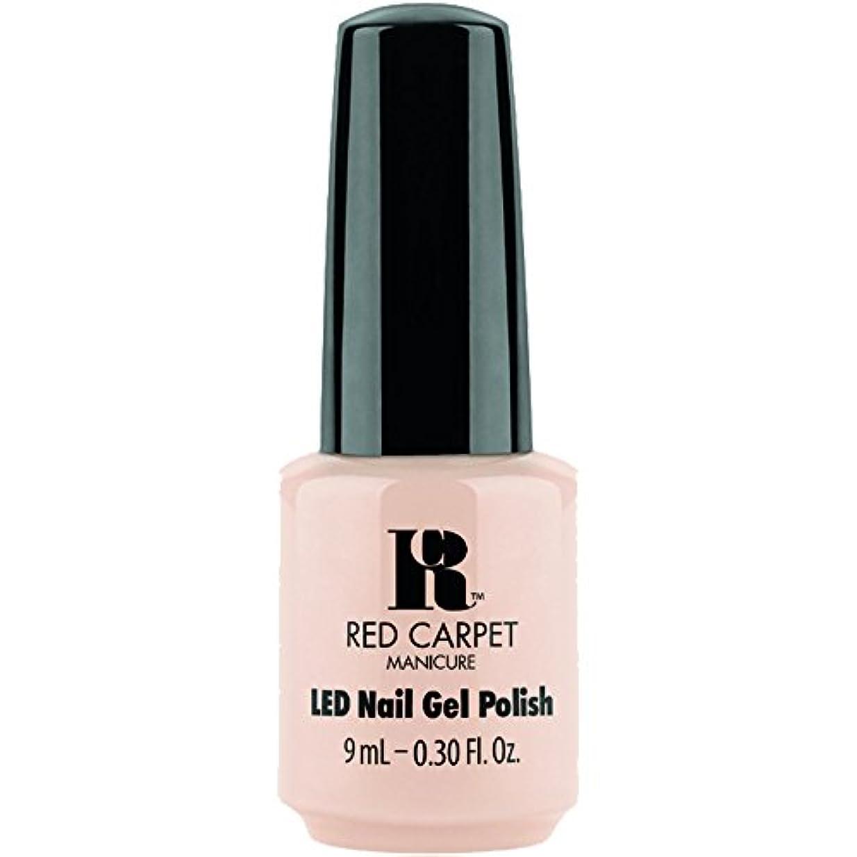 見落とす気づく標高Red Carpet Manicure - LED Nail Gel Polish - Oh So Posh - 0.3oz / 9ml