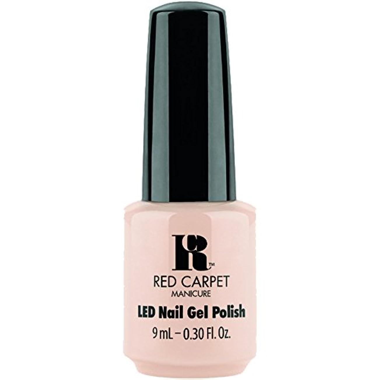 図受け皿オプションRed Carpet Manicure - LED Nail Gel Polish - Oh So Posh - 0.3oz / 9ml