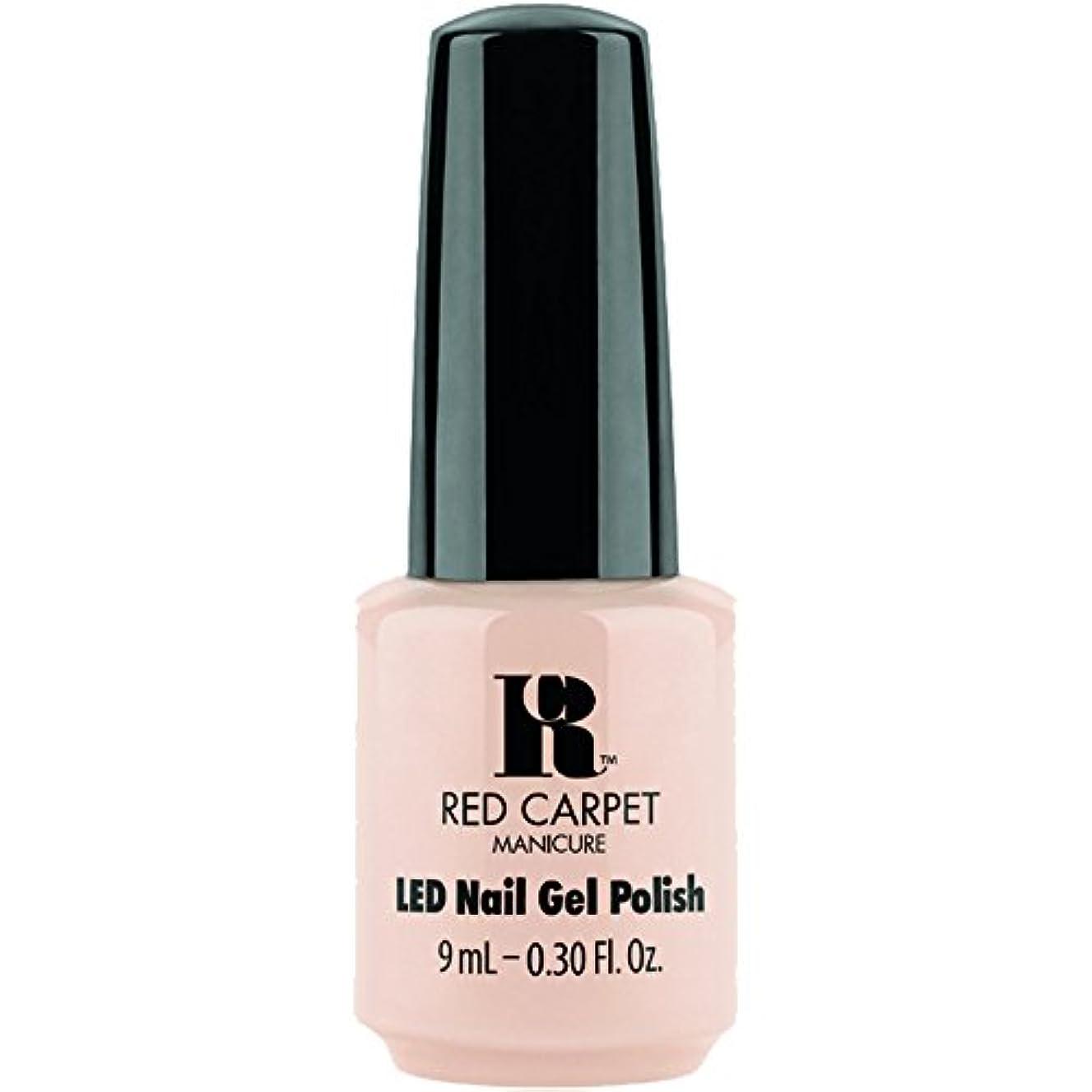 準拠ピラミッドカウントアップRed Carpet Manicure - LED Nail Gel Polish - Oh So Posh - 0.3oz / 9ml