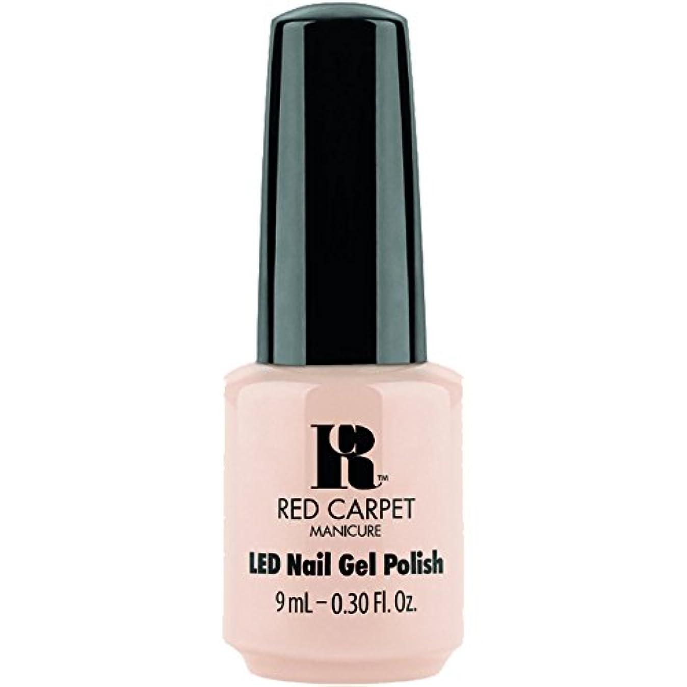 ツール個人的にヘクタールRed Carpet Manicure - LED Nail Gel Polish - Oh So Posh - 0.3oz / 9ml